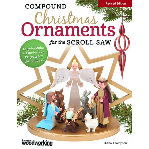 View a Larger Image of Compound Christmas Ornaments for Scroll Saw