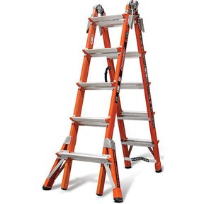 Conquest, Fiberglass articulating ladder with V-rung