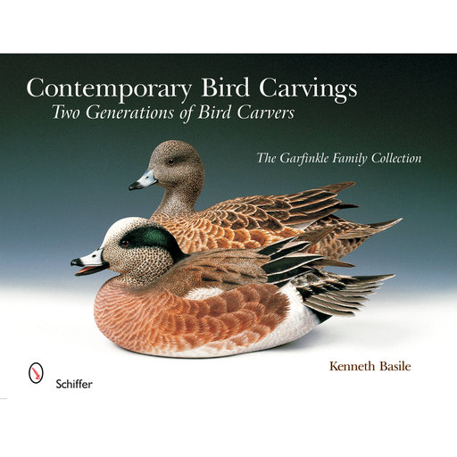 View a Larger Image of Contemporary Bird Carvings: Two Generations of Bird Carvers