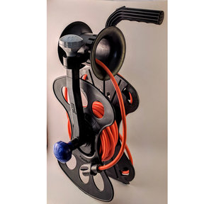 Cord, Hose and Cable Storage Organizer Storage Reel, Guide-Winder, Wall Storage Mount and 25' Power Cord