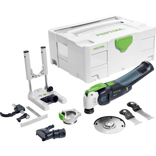 View a Larger Image of Cordless Vecturo Oscillating Multitool Basic Set without battery pack or charger