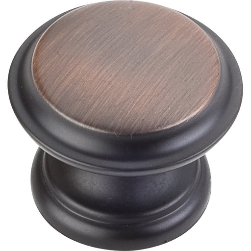 "View a Larger Image of Cordova Knob, 1-3/8"" Dia.,  Brushed Oil Rubbed Bronze"