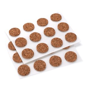 "Cork Dot, Natural 1/2"" dia. 40-piece"