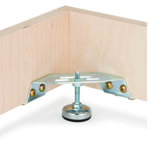 View a Larger Image of Corner Bracket Levelers with Lip 2 pc