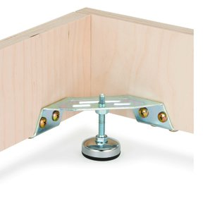 Corner Bracket Levelers with Lip 2pc
