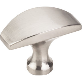 "Cosgrove Knob, 1-1/2"" O.L., Satin Nickel"