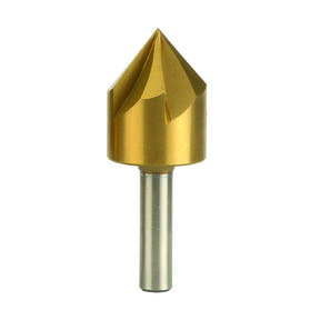 "Countersink, Titanium-Nitride Coated, 3/4"" Diameter"