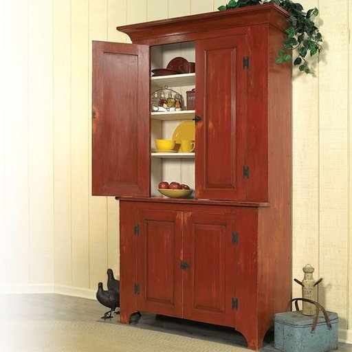 View a Larger Image of Country Classic Stepback Cupboard - Downloadable Plan