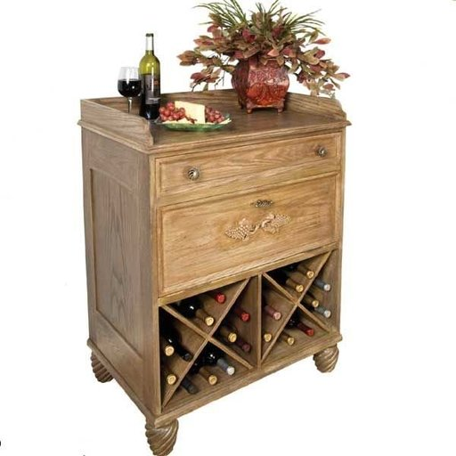 View a Larger Image of Country French Wine Server - Downloadable Plan