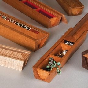 Coved Jewelry Box - Downloadable Plan