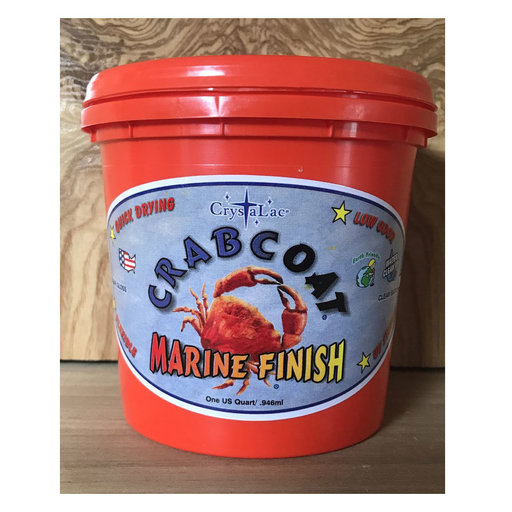 View a Larger Image of CrabCoat Marine Finish Satin 5 Gallon Pail