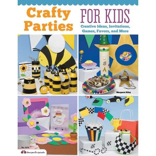 View a Larger Image of Crafty Parties for Kids