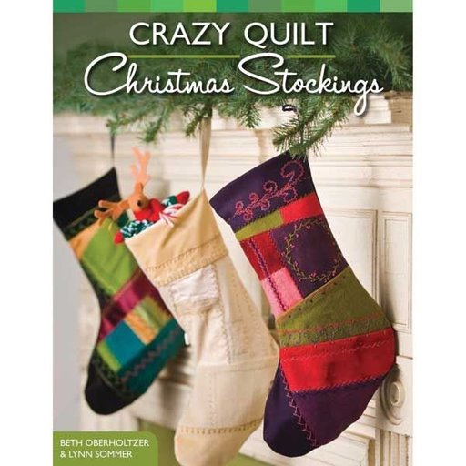 View a Larger Image of Crazy Quilt Christmas Stocking