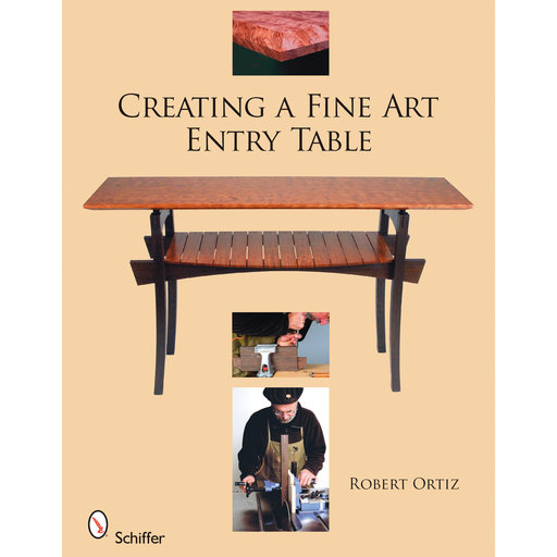 View a Larger Image of Creating a Fine Art Entry Table