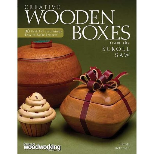 View a Larger Image of Creative Wooden Boxes from the Scroll Saw