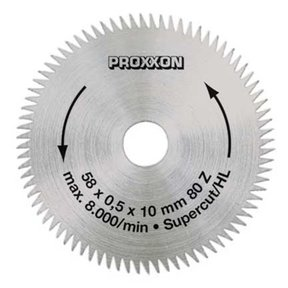"Crosscut blade ""Super-Cut"" for Proxxon KS 115, 2-9/32"" diameter"