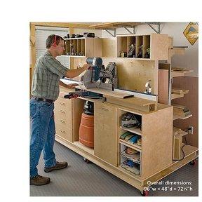 Crosscut Station / Lumber Rack - Downloadable Plan