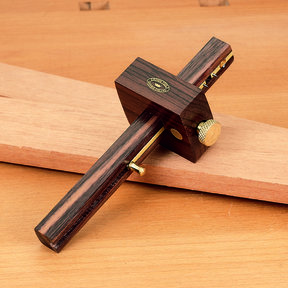 Rosewood and Brass Marking Gauge