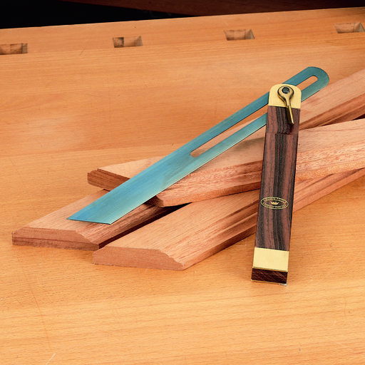 """View a Larger Image of Rosewood and Brass Sliding Bevel, 10-1/2"""""""