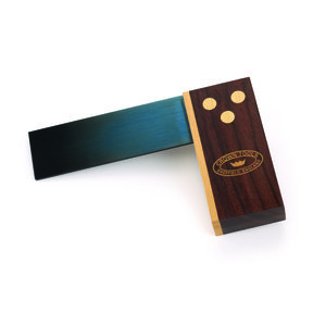 Rosewood and Brass Try Square, 3""