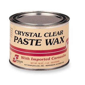 Clear Furniture Bowling Alley Wax 1 lb