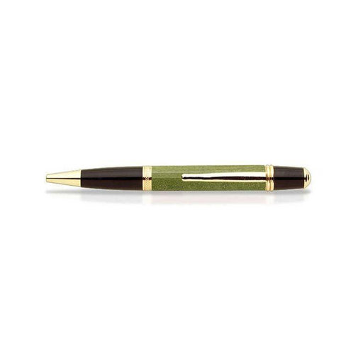 View a Larger Image of Curly Maple Pen Blank - Green