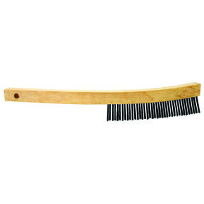 """Curved Handle Wire Brush 13"""""""