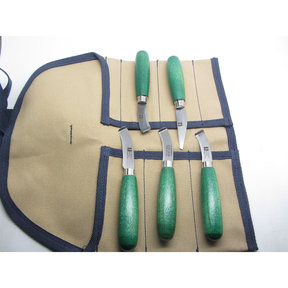 Curved Lipped Leather Workers Kit