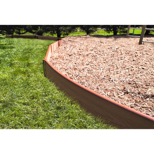 """View a Larger Image of Curved Playground Border 16' – 1"""" profile"""