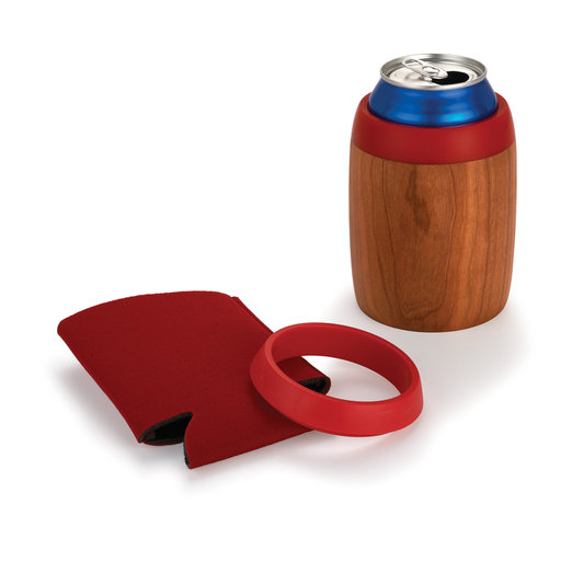 View a Larger Image of Custom Koozie Kit Red