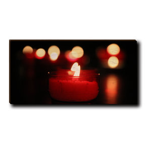 "Cutting Board Noel Candle 12"" x 6"""