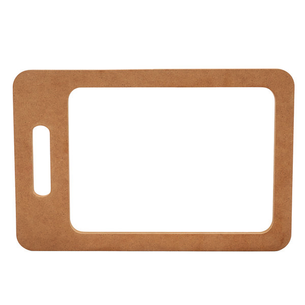 Cutting board template rectangle shape with juice groove 15 12 view a larger image of cutting board template rectangle shape with juice groove 15 pronofoot35fo Choice Image