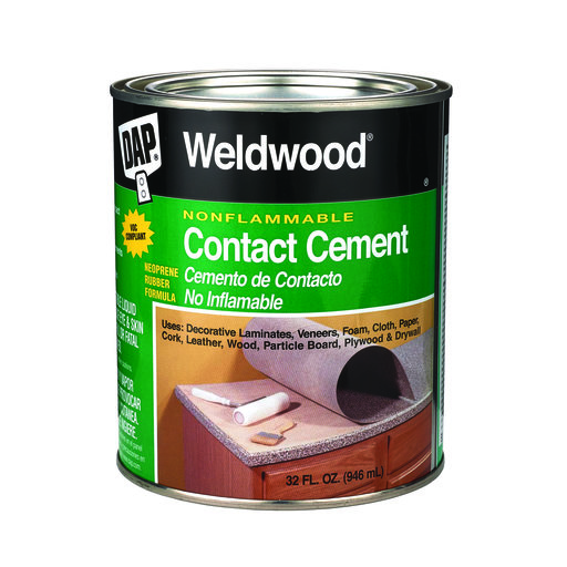 View a Larger Image of DAP Weldwood Nonflammable Contact Cement Qt