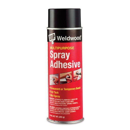 View a Larger Image of Weldwood Spray Adhesive, 16 -oz