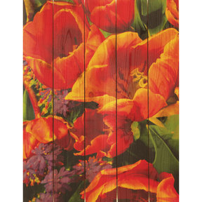 "Daydream Gizaun Cedar Wall Art, Full Bloom, 16"" x 24"""