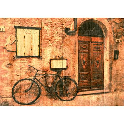 View a Larger Image of ItalianOsteria 33x24 Wood Art