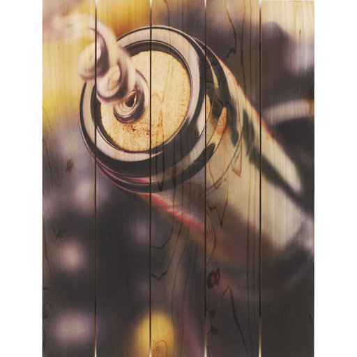 View a Larger Image of Un Wind 28x36 Wood Art