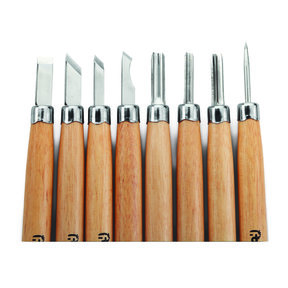 Detail Carving Tool Set, 8 piece