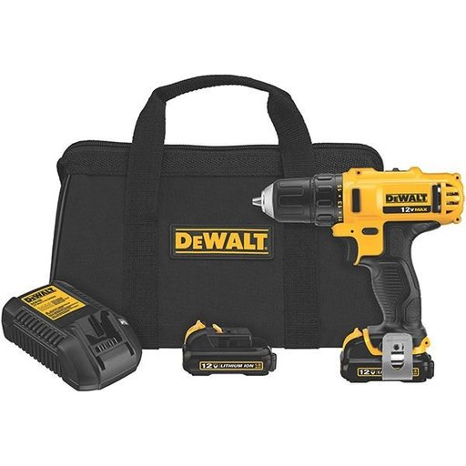 "View a Larger Image of 12V MAX Drill Driver Kit, 3/8"", Model DCD710S2"