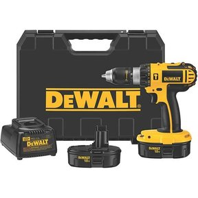 "18V Cordless Compact Hammerdrill Kit, 1/2"", Model DC725KA"