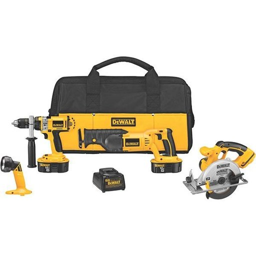 View a Larger Image of 18V Cordless XRP 4-Tool Combo Kit, Model DCK440X