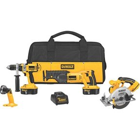 18V Cordless XRP 4-Tool Combo Kit, Model DCK440X