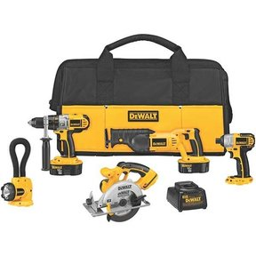 18V Cordless XRP 5-Tool Combo Kit, Model DCK555X