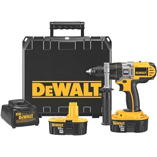 "View a Larger Image of 18V Cordless XRP Drill/Driver Kit, 1/2"", Model DCD940KX"