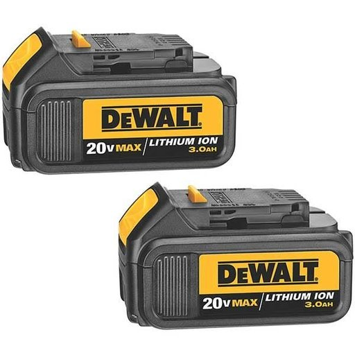 View a Larger Image of 20V MAX Lithium Ion Battery Pack (3.0 Ah), 2 Pieces, Model DCB200-2