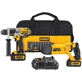 20V MAX Lithium Ion Hammerdrill/Reciprocating Saw Combo Kit (3.0 Ah), Model DCK292L2