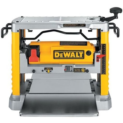 """View a Larger Image of Heavy-Duty 12-1/2"""" Thickness Planer with Three Knife Cutter-Head, Model DW734"""