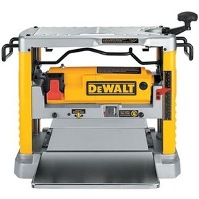 "Heavy-Duty 12-1/2"" Thickness Planer with Three Knife Cutter-Head, Model DW734"