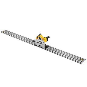 "Heavy-Duty 6-1/2"" Corded TrackSaw Kit with 102"" Track"