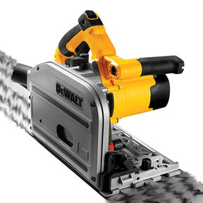 "Heavy-Duty 6-1/2"" Corded TrackSaw Kit"